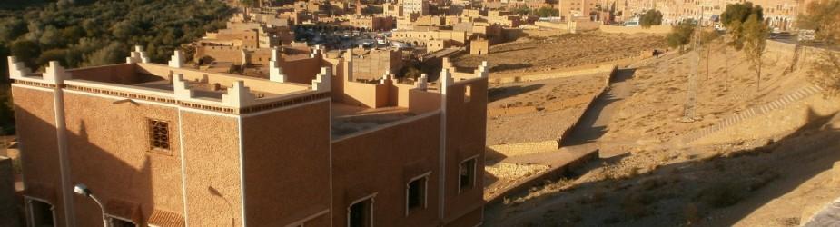 31 octobre de Merzouga à Ouarzazate, la début de la remontée vers le nord