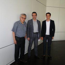Première rencontre avec mes partenaires à Genève