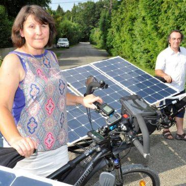 Le vélo solaire contre le cancer