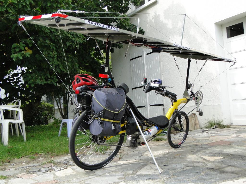 vélo couché assistance électrique