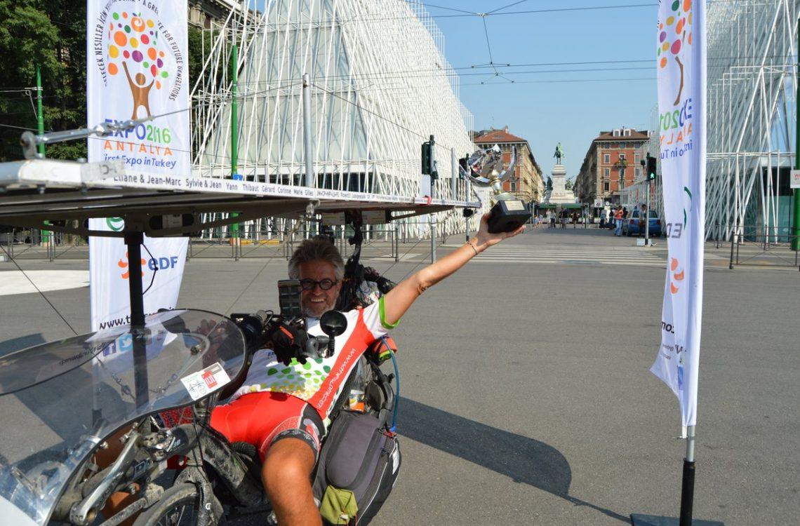 Suntrip, l'arrivée à Milan