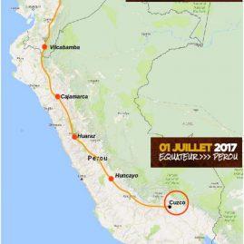 IncaDivide 2017 : en route pour la Cordillère des Andes