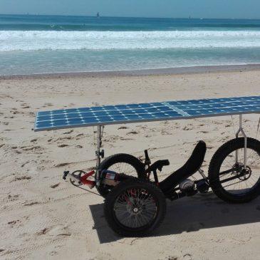 Les premiers tours de roues de «DragonFatTrike» le prototype de trike solaire